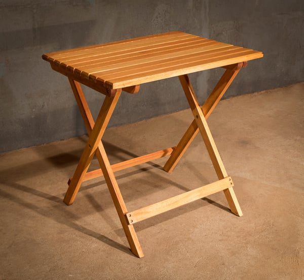 Expedition Safari Table Neat And Compact The African Touch - How To Make A Small Folding Table