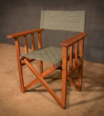 Safari-Directors-Chair-quilted-howard-green-canvas