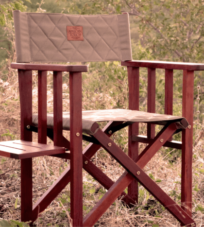 Clip on drinks tray for Safari Director's Chairs
