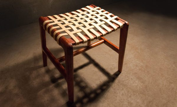 Chobe-Dressing-Table-Stool-leather-strap-seat