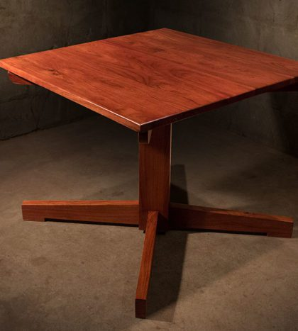 Restaurant-Table-solid-Zambezi-Teak