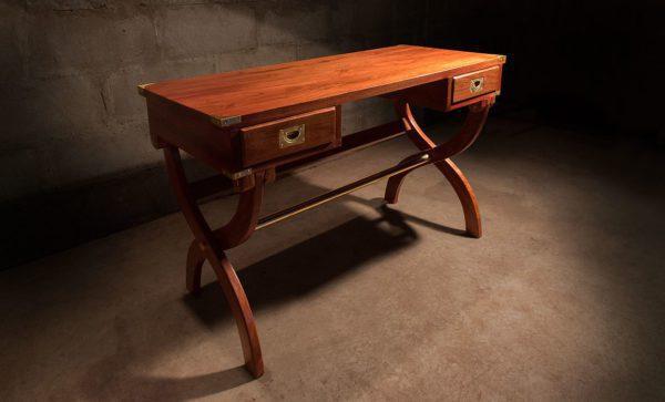 Kalahari-Campaign-Desk-in-solid-zambezi-teak