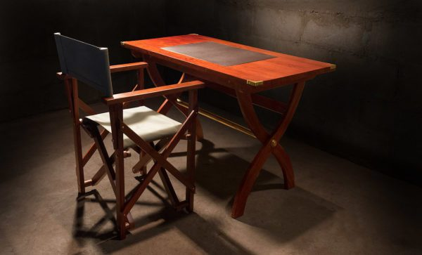 Campaign-Directors-Chair-mahogany-Safari-Desk-teak