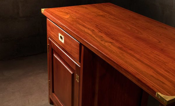 Fridge-Cabinet-and-Desk-solid-Zambezi-Teak