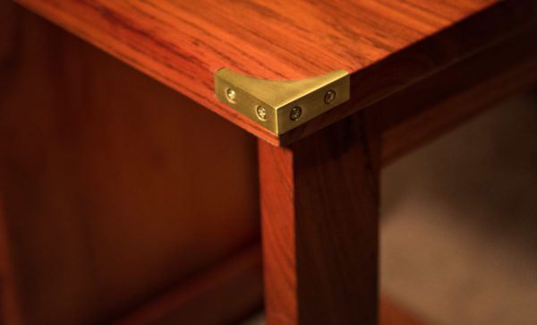 Fridge-Cabinet-and-Desk-solid-brass-corner-block
