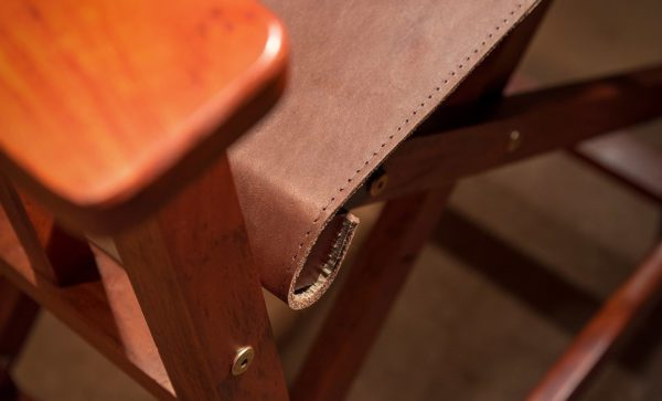 Directors-Bar-Chair-Harness-leather-stitch-detail
