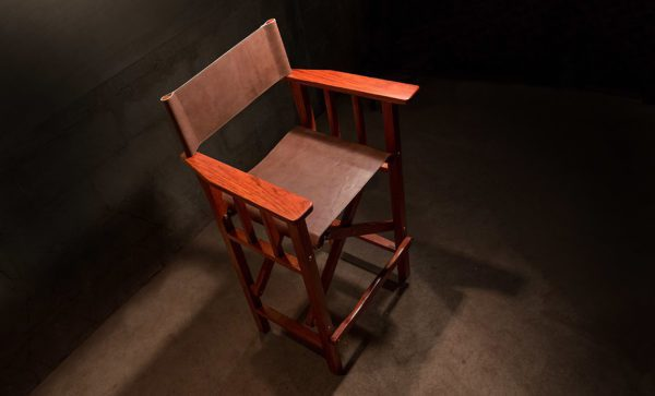 Directors-Bar-Chair-Harness-leather-top-detail