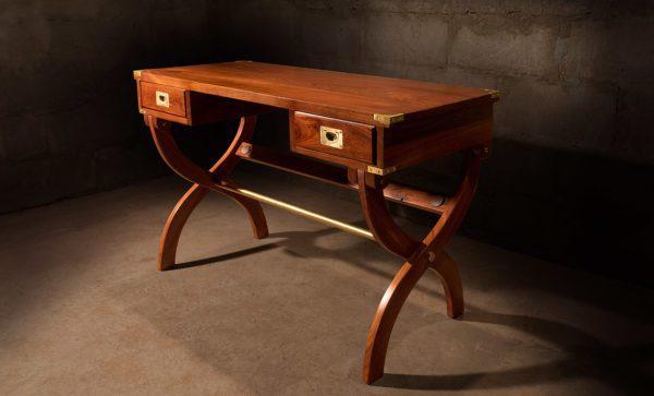 Kalahari-Campaign-Desk-in-African-mahogany